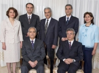 Yaran: Seven Baha'i leaders who have been in prison in Tehran.