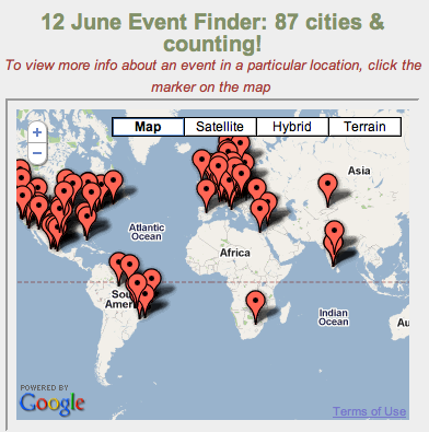 Global Day of Action: 87 Cities and Counting.