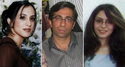 Haleh Rouhi, Sasan Taqva and Raha Sabet, taken into custody on 19 November 2007. They are beginning the final year of a four-year sentence, handed down for their participation in an education program for underprivileged children in and around the city of Shiraz.