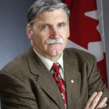 "Canadian Senator Lieutenant-General Romeo Dallaire, who has called upon his government to address urgently Iran's ""intent to destroy, in whole or in part, the Baha'i community as a separate religious entity."""