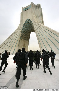security-drill-azadi-square-tehran7