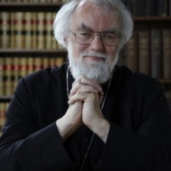 "Dr. Rowan Williams, former archbishop of Canterbury. As the archbishop of Canterbury, Dr. Williams was the most senior bishop of the worldwide Anglican Communion. He has called Ayatollah Tehrani's gift to the Baha'is an act of ""immense significance"". (Photo courtesy of Magdalene College)"