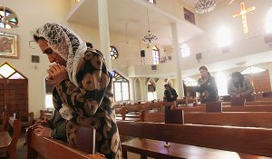Catholic Church in Banghdad, Iraq, 2011 (Mario Tama/Getty Images)