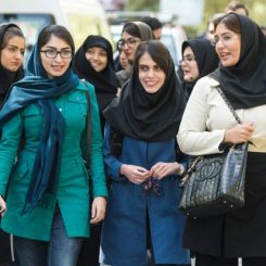 female-students-walking-on-campus-university-of-tehran-iran