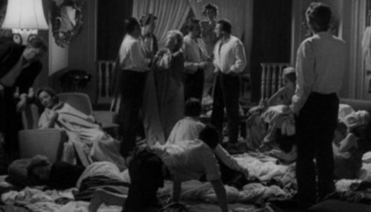 A scene from Louis Bunuel's film The Exterminating Angel, 1962