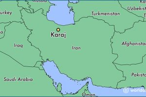 11584-karaj-locator-map