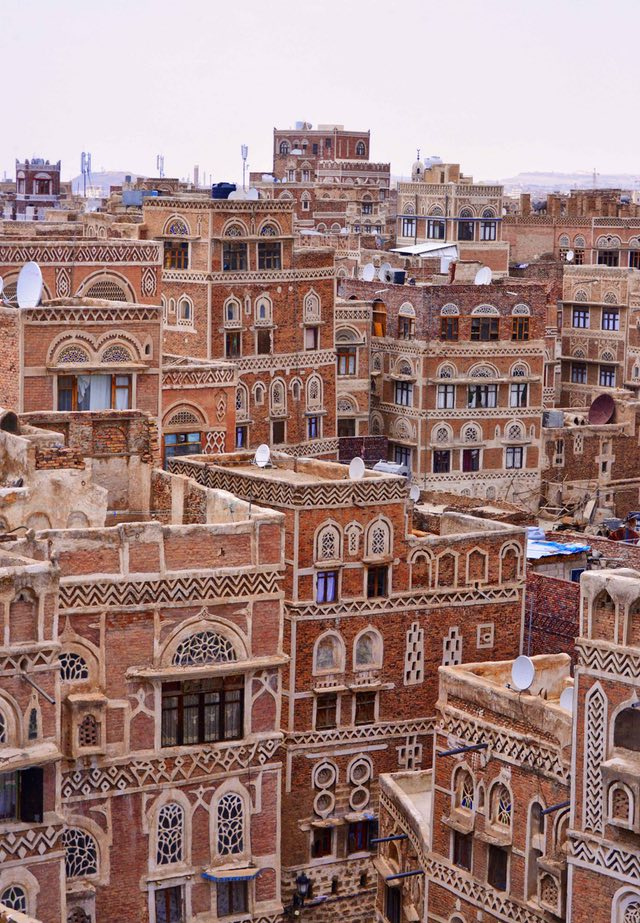 Image of the Old City of Sana'a. Sana'a is the largest city in Yemen. Photo credit: Rod Waddington flickr.com/photos/rod_waddington/