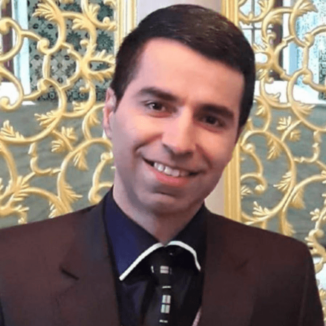 Figure 2. Abbas Khosravi Farsani was expelled from University of Isfahan and Payame Noor University after being arrested for writing blog posts and an online book critical of the Islamic Republic.