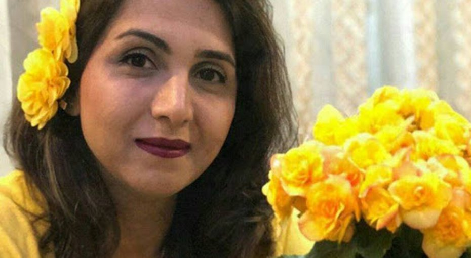 Bagheri Tari was sentenced to five years in prison for celebrating a Baha'i holy day in her own home