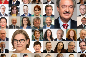 Minister of Foreign Affairs of Luxembourg, Members of European Parliament and parliamentarians across Europe who issued statements on the situation of the Baha'is in Iran.