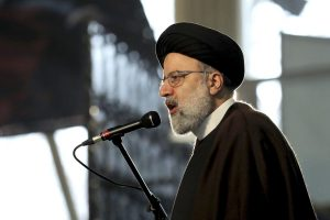 More than 40 prominent members of Canada's legal community have signed an open letter to Chief Justice of Iran, Ebrahim Raisi, photographed here at a ceremony in Tehran, on Jan. 1, 2021.