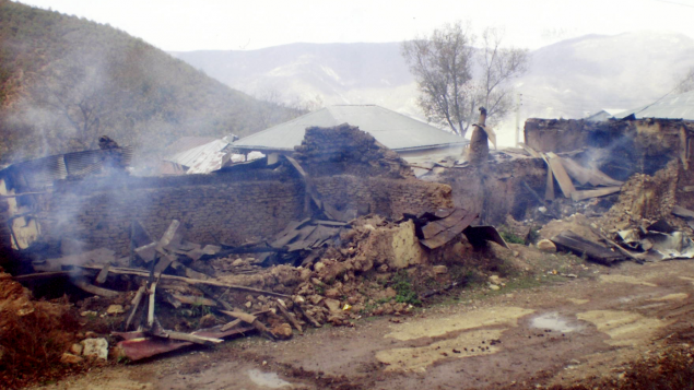 Two homes belonging to members of the Baha'i minority were torched in May 2007. This is seen as evidence of ongoing persecution of Baha'is in Iran.(Bahá'í World News Service)