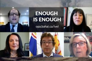 "Canadian MPs from all five political parties recorded a video calling on the Iranian authorities: ""Enough is enough""."