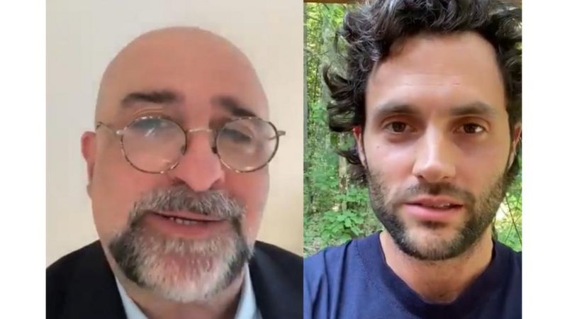 American actor Penn Dayton Badgley and British-Iranian actor Omid Djalili were among the artists who supported the campaign.
