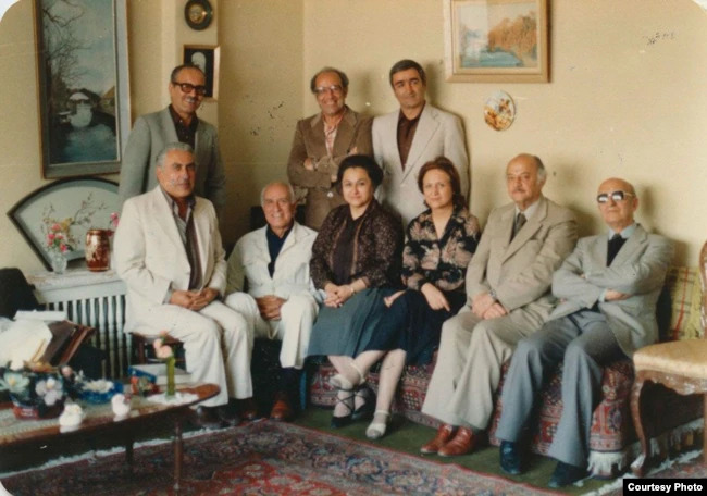 Members of the Second National Spiritual Assembly of the Baha'is of Iran Who were Arrested and Executed